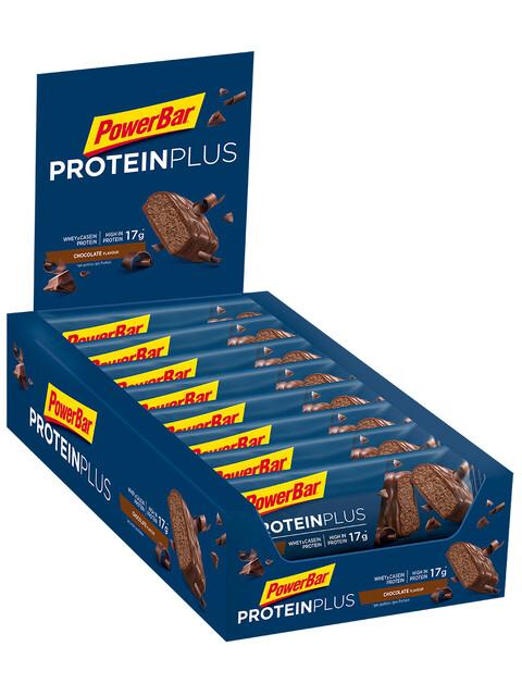 PowerBar ProteinPlus 30% Riegel Box Chocolate 15 x 55g
